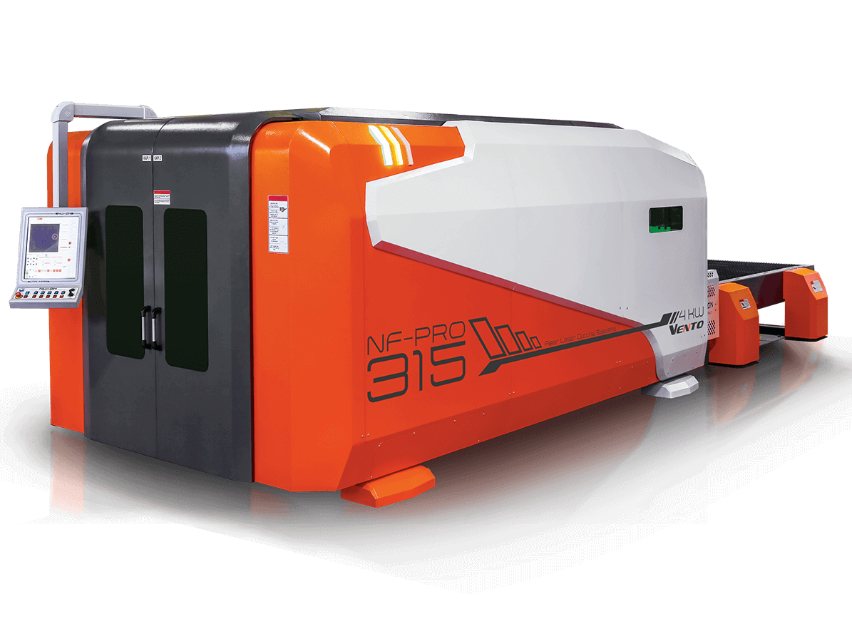 Vento 315 fiber laser cutting