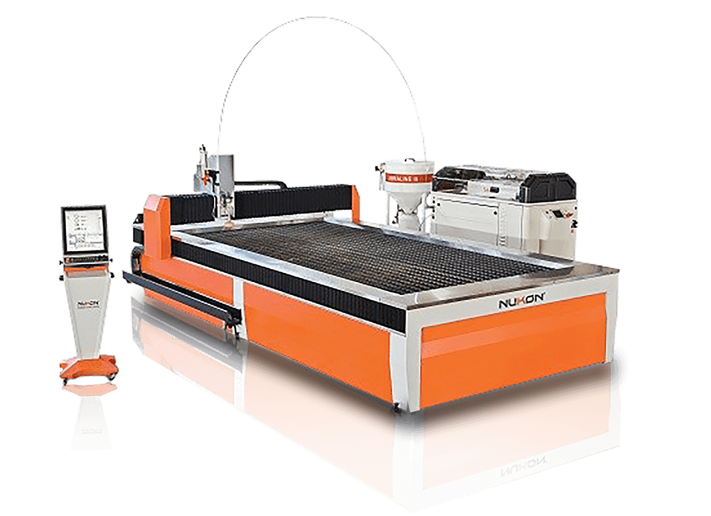 waterjet cutting machine nukon bg