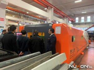 Проследяване на процеса на лазерно рязане